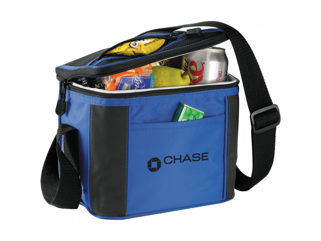 6 Can Cooler ~ Pacific trail can cooler leed s promotional products