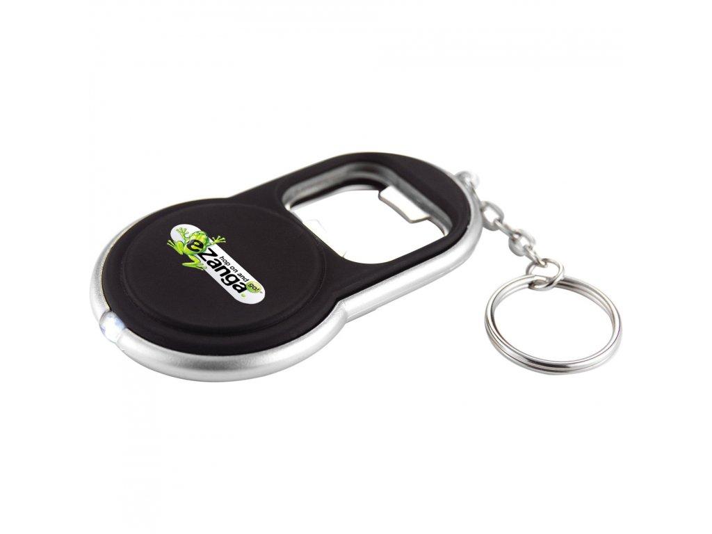6640 15 circle bottle opener keylight leed s promotional products. Black Bedroom Furniture Sets. Home Design Ideas