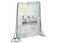 Tie Dyed Drawstring Bag