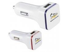 Thunderbolt Dual USB Car Charger