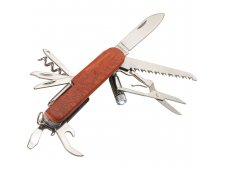Wooden 13-Function Pocket Knife