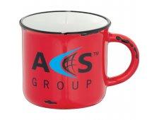 Enamel Ceramic Mug 17oz