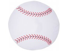 Baseball Shaped Stock Design Sport Towel