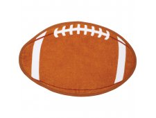 Football Shaped Stock Design Sport Towel