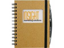 Frame Rectangle Hardcover Spiral JournalBook®