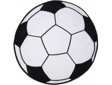 Soccer Shaped Stock Design Sport Towel