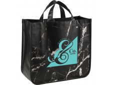 Marble Laminated Non-Woven Tote