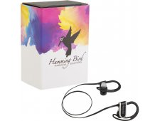 Super Pump Bluetooth Earbuds with Full Color Wrap