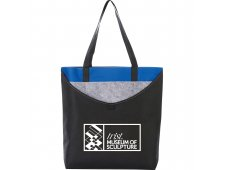 Layer Pocket Non-Woven Convention Tote