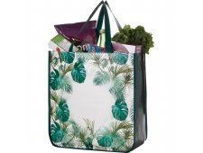 Palms Laminated Shopper Tote
