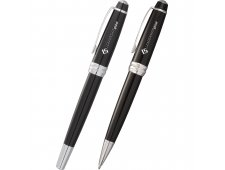 Cross® Bailey Black Lacquer Pen Set