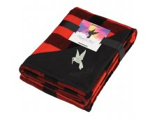 Buffalo Plaid Ultra Plush Throw w/Full Color Card
