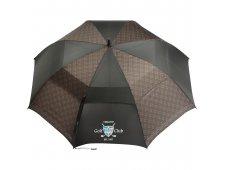 """64"""" Cutter & Buck Plaid Golf Umbrella"""