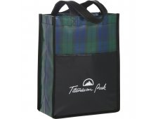 Buffalo Plaid NW Mini Gift Tote