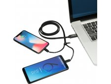 Zipper 3-in-1 Charging Cable