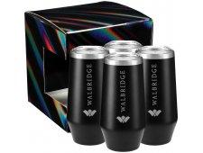 Cru Champagne Flute 9oz 4 in 1 Gift Set